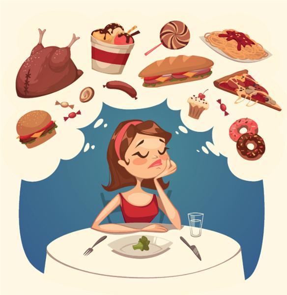 胖胖减肥 儿童 矢量图